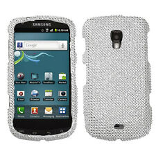 For Samsung Galaxy S Lightray 4G Crystal Diamond BLING Case Phone Cover Silver