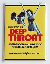Deep Throat FRIDGE MAGNET (2 x 3 inches) movie poster linda lovelace