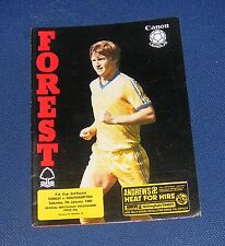 Nottingham Forest -v- Southampton  1983-1984