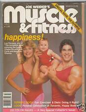 Muscle & Fitness Bodybuilding Workout Magazine LOU FERRIGNO + Family 3-82