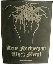 DARK THRONE RÜCKENAUFNÄHER / BACKPATCH #1 TRUE NORWEGIAN BLACK METAL