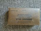Vintage Sealed US Military First Aid Muslin Bandage Dyed Dressing camo colored