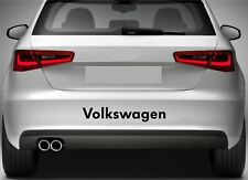 Rear Bumper Stickers Fits VW Volkswagen Golf Polo Decal Premium Quality XZ108