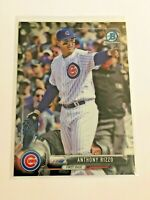 2017 Bowman Chrome Baseball Base Card #48 - Anthony Rizzo - Chicago Cubs
