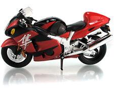 M028-2 Joycity 1:12 Suzuki GSX1300R Hayabusa Red Motorcycle Model Diecast Toy