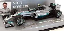 Mercedes-Benz MINICHAMPS Diecast Formula 1 Cars