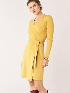 Diane Von Furstenberg New Linda  Wrap Dress Size M