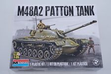 Monogram 85-7853 M48A2 Patton Tank 1:35 modellismo