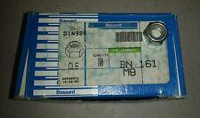 New listing M8x1.25mm Zinc Plated Self-Locking Nylon Insert Hex Lock Nuts 100pcs
