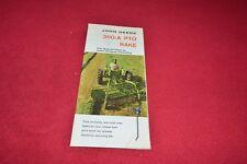 John Deere 350-A PTO Rake Dealers Brochure YABE14