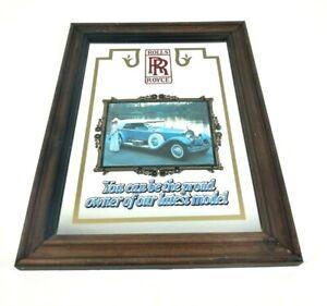 Rolls Royce decorative mirror vintage