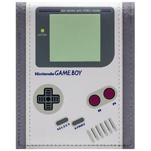 Official Nintendo Game Boy Original Retro Console White Card Wallet *SECOND*