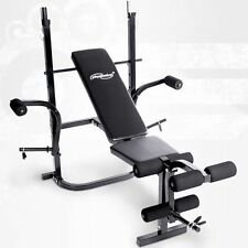 FITNESS HANTELBANK HANTEL TRAININGSBANK KRAFT STATION GYM TRAINER FLACHBANK