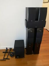 New listing Energy Xl Series 6 Speaker Set w/ Towers, Center, Surrounds & Powered Subwoofer