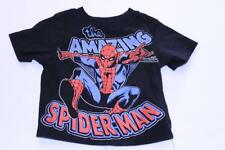 Infant/Baby The Amazing Spider-Man 6/9 Months T-Shirt Tee (Black) Marvel