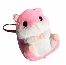 Kawaii Pink Hamster Plush Backpack Bag Cute Japan Jfashion Lolita Pastel Kei