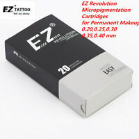EZ Revolution Micropigmentation Cartridge Tattoo Needles for Permanent Makeup