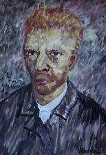 Rare & Unique original oil, painting, signed Vincent van Gogh, w COA, docs.