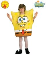 RUBIES Boys Costume Fancy Dress Licensed Spongebob Squarepants Foam Tunic 883176