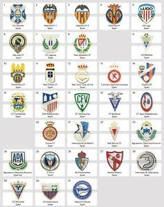 Metal Pin Spain Football Clubs European Soccer Part 2