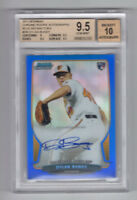 DYLAN BUNDY 2013 Bowman Chrome Blue Refractor AUTO RC #/250 BGS 9.5/10