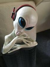 Extremely Rare! Lifesize Gray Alien CD Rack Figurine Statue