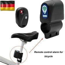 Alarmanlage Vibration Alarm Sirene mit Fernbedienung für Fahrrad Bike Roller DHL