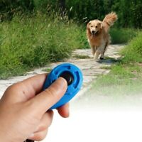 Pet Dog Training Clicker Trainer Obedience Portable Good Training Aid Tool