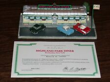 1993 The Danbury Mint Highland Park Diner Rochester Ny Classic American Diners