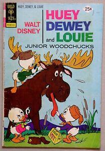 Walt Disney Huey Dewey and Louie Junior Woodchucks #29 - Gold Key - B Gregory