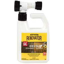 Rust-Oleum Restore Renovator Deck Cleaner + Sealer  Clear Quart Covers 350 Sq FT