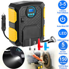 12V DC Volt Electric Tire Inflator Portable Auto Car 150 PSI Air Pump Compressor