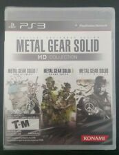 Metal Gear Solid HD Collection NEW Sealed (Sony PlayStation 3)