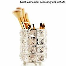 Makeup Brush Holder Crystal Beads Design Pencil Holder Storage Organiser