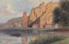 carte postale     dinant   rocher bayard
