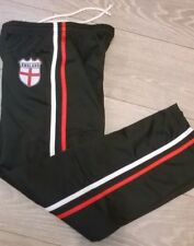 boys girls joggers tracksuit bottoms trousers ENGLAND Black Age 8 9 10