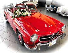 *JUWEL DEUTSCHER GESCHICHTE*  Mercedes 190 SL Roadster W121 im Oldtimer Museum