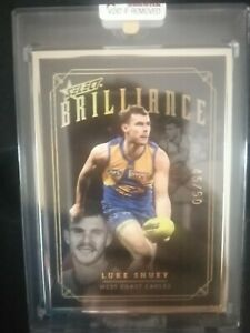 2020 Select Brilliance AFL Card Luke Shuey West Coast Eagles