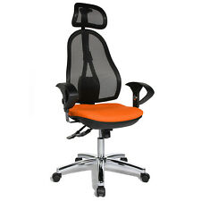 Bürostuhl Schreibtischstuhl Drehstuhl Topstar Open Point SY orange B-Ware