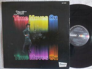 STRUTT - TIME MOVES ON - LP USA 197& BRUNSWICK