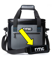 Genuine RTIC Soft Pack Cooler Replacement Strap Color Black. Free Shipping