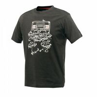 Dare2b Frequency Tee Mens Wicking Sports T-Shirt Grey Size XS