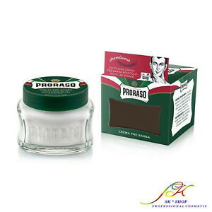 Proraso Refreshing Pre-Shaving Cream 100ml (Eucalyptus & Menthol) +FREE TRACKED