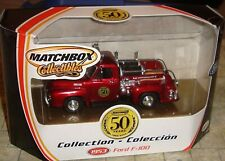 Matchbox Collectibles 50 Years Collection 1953 Ford F-100 Brand New