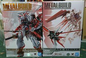 Bandai Metal Build Gundam Astray Redframe Kai + Aile Striker  (Read Description)