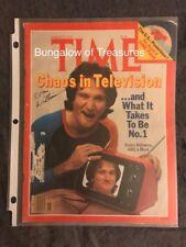ROBIN WILLIAMS signed original TIME MAGAZINE cover ~ March 12, 1979