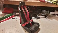 1/10 scale RC wraith seat & seat belt,in 12 colors,Crawler,Drift,Harness