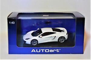 1/43 Autoart 56009 McLaren 12C  White
