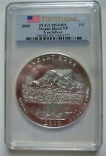 2010 ATB  Silver PCGS MS 69PL 5OZ.  Mount Hood NP First Strike