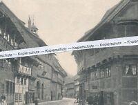 Hornburg - Schladen-Werla - Wasserstraße -  um 1925 - selten!       M 27-4